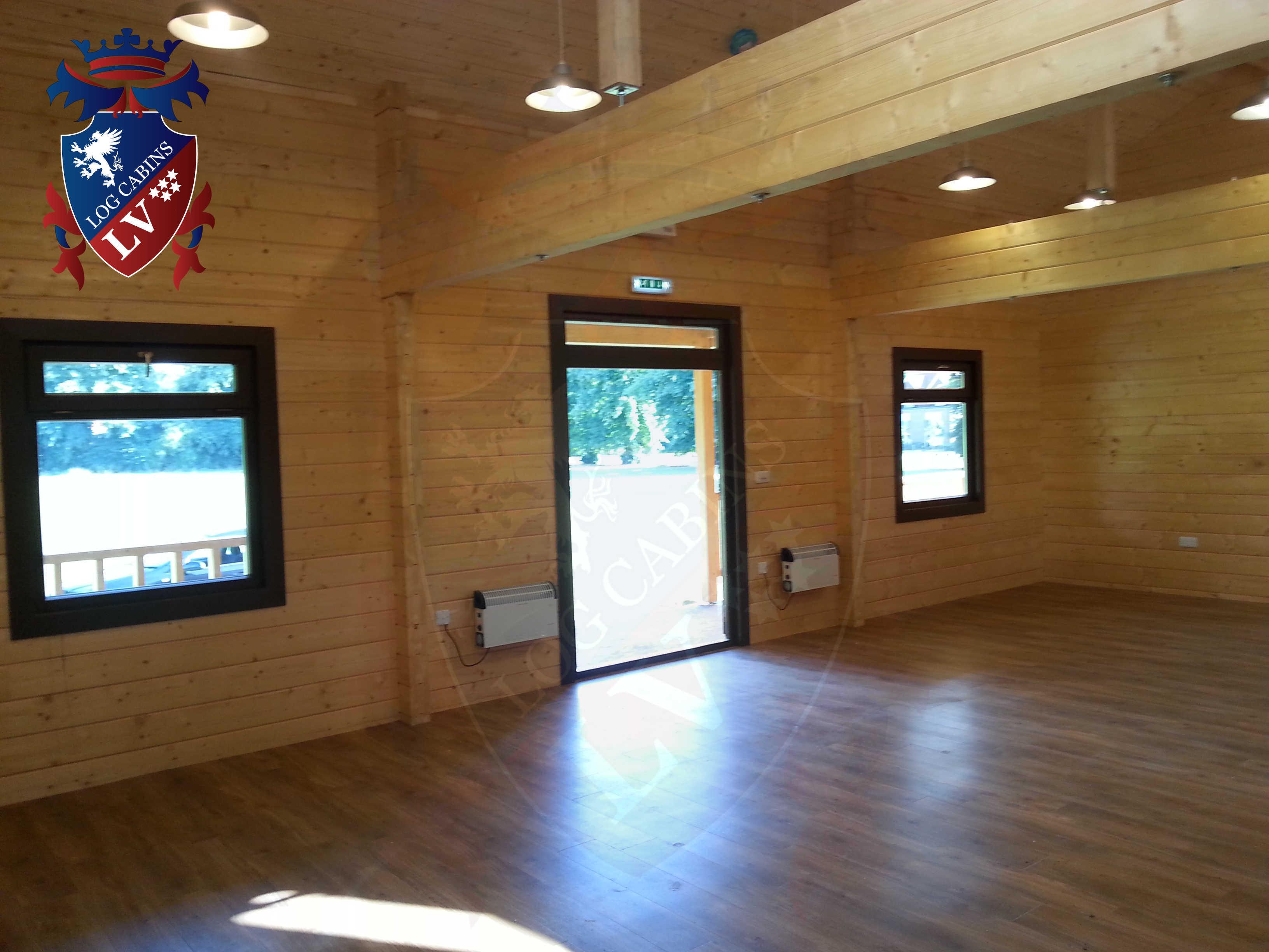 Glulam Log Cabins - Log Cabins LV- 14