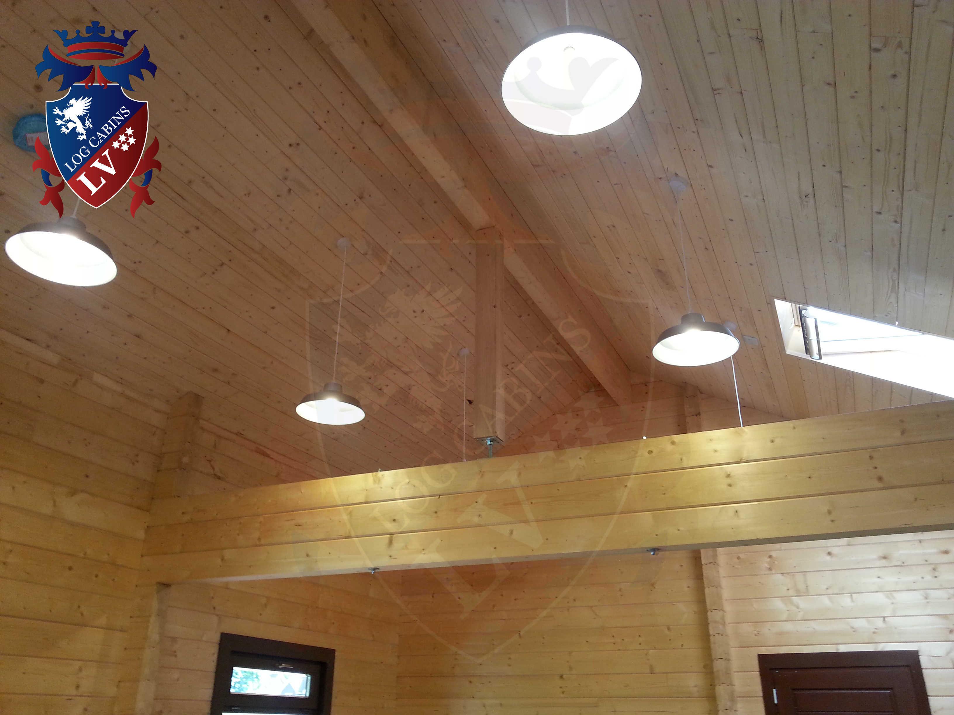 Glulam Log Cabins - Log Cabins LV- 15