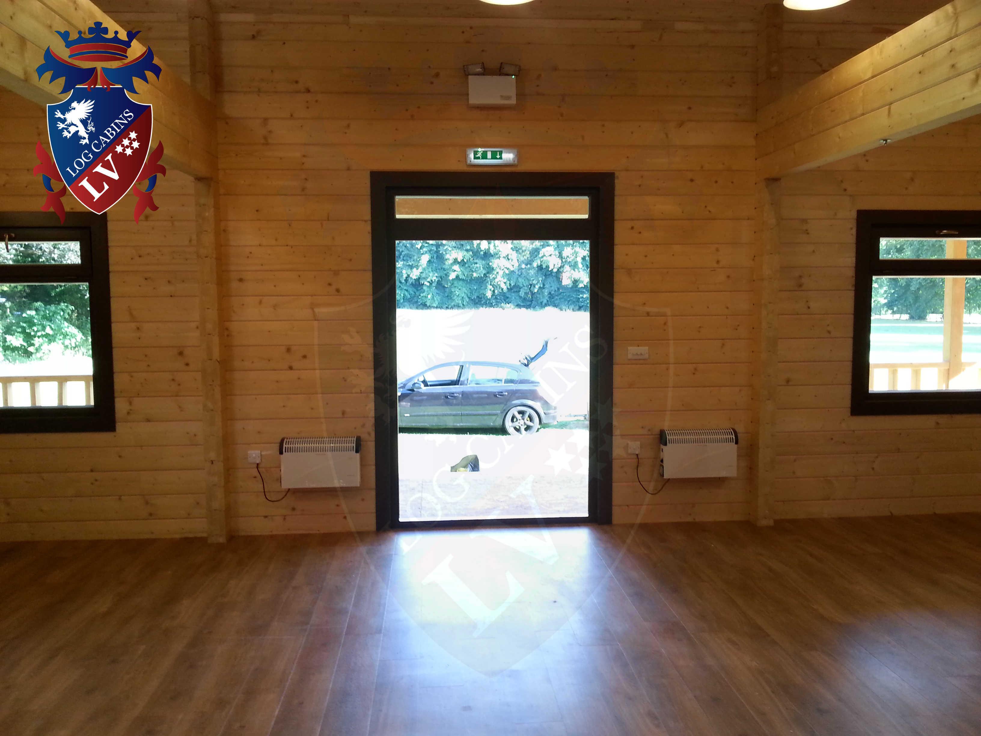 Glulam Log Cabins - Log Cabins LV- 16