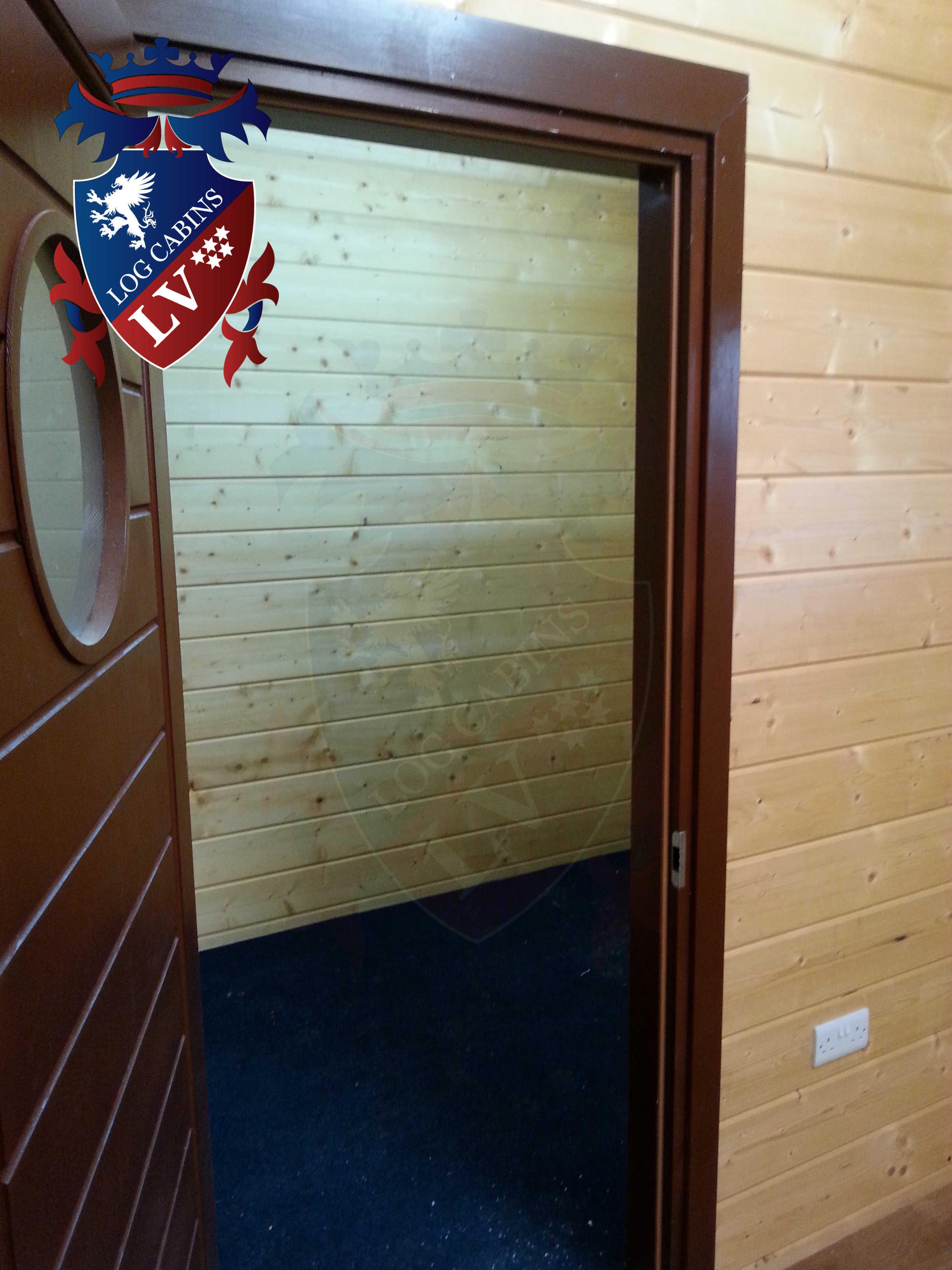 Glulam Log Cabins - Log Cabins LV- 18
