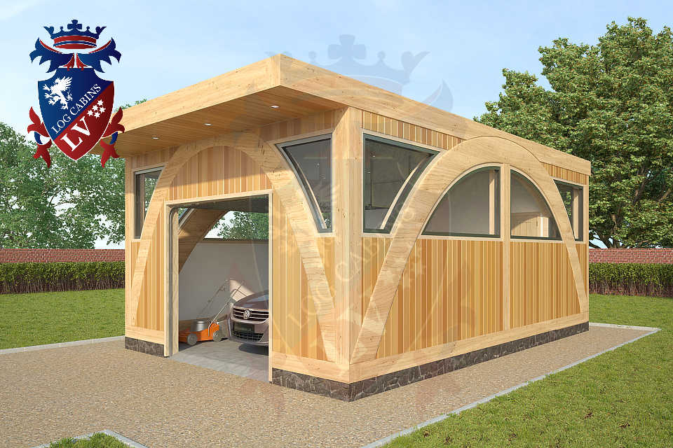 Glulam-Timber Frame-Garages   0191