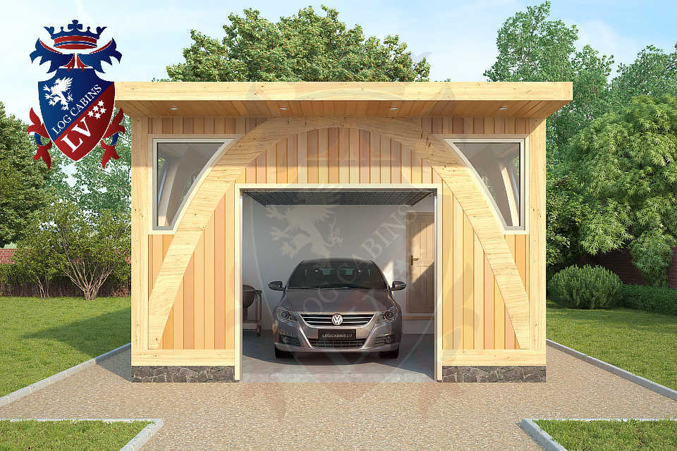 Glulam-Timber Frame-Garages   0357