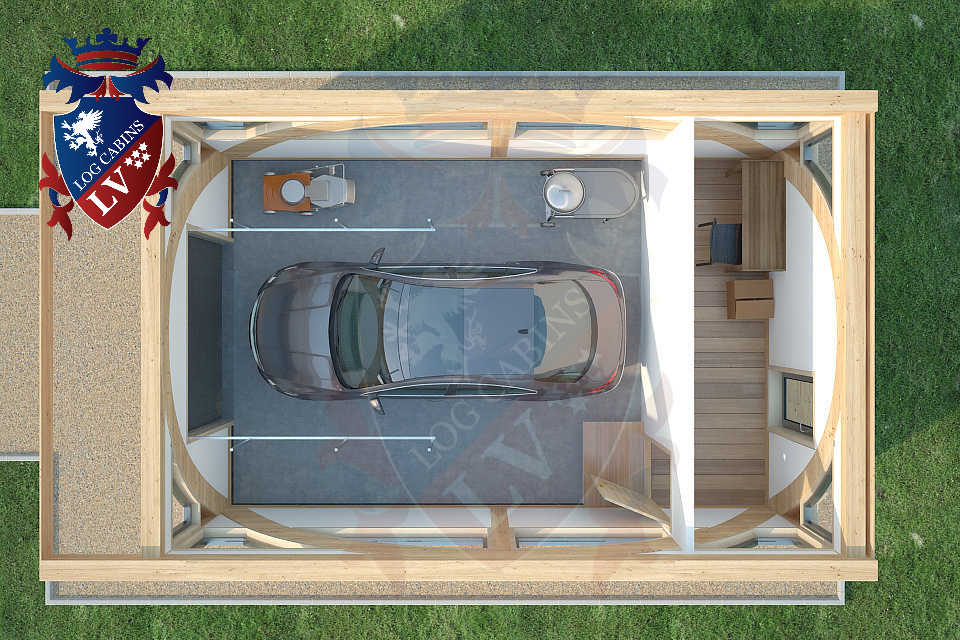 Glulam-Timber Frame-Garages   0523