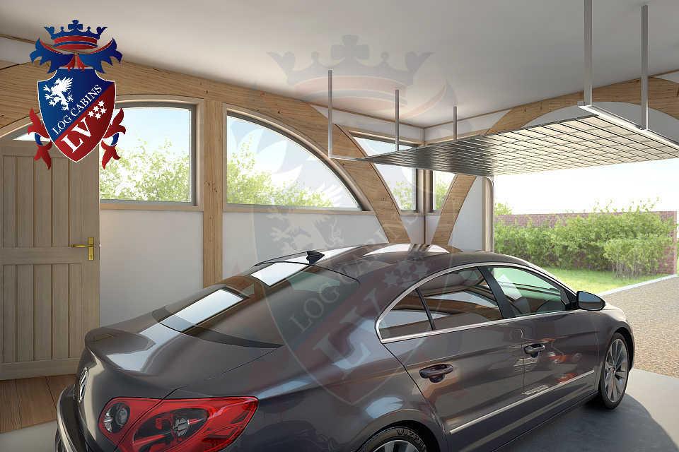 Glulam-Timber Frame-Garages   0855