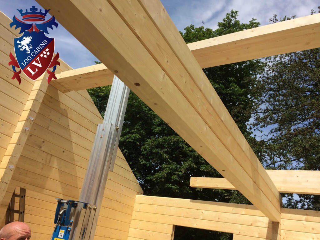 Glulam log cabins  120