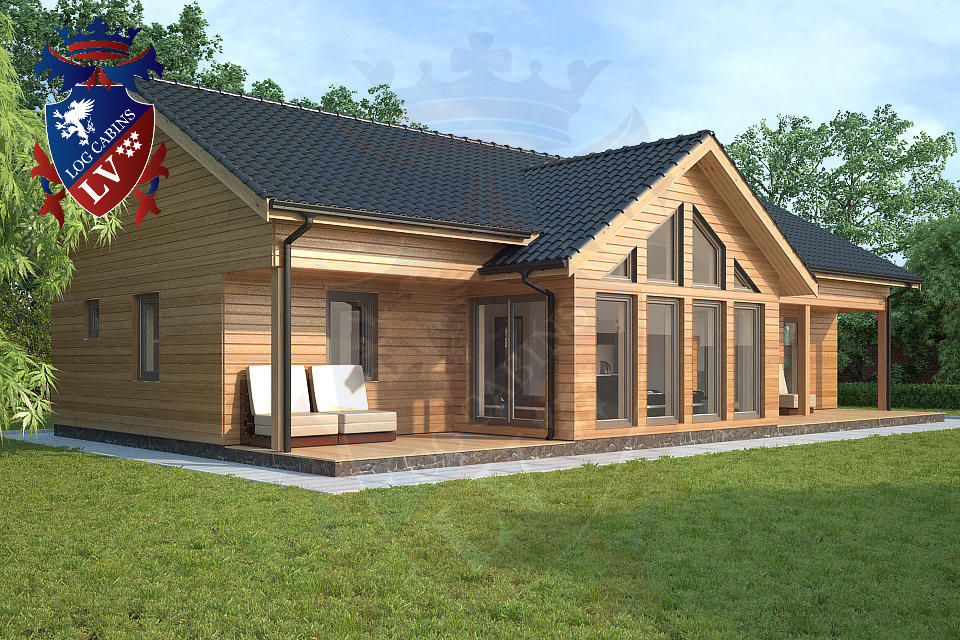 Passive Show Home Coming To Dorset Cornwall Log Cabins
