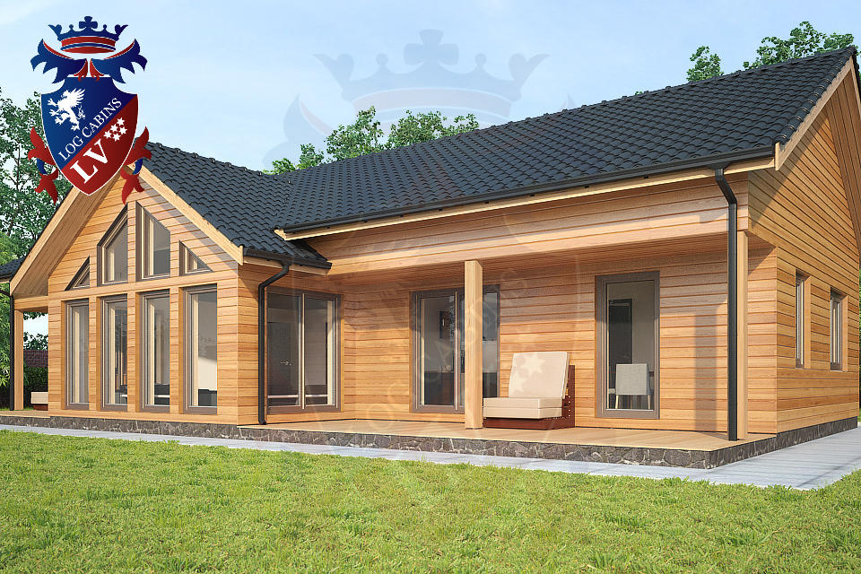 Highly Insulated Timber Frame Housing  2015 06