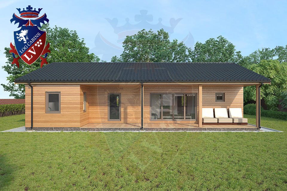 Highly Insulated Timber Frame Housing  2015 11