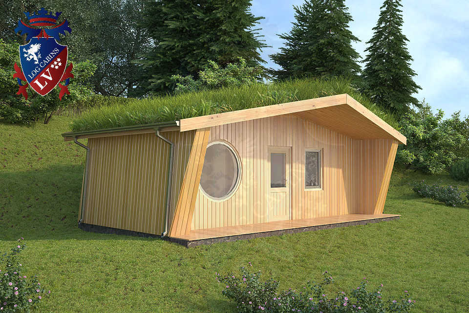 Timber Frame Lodge Cabins for Holiday Parks
