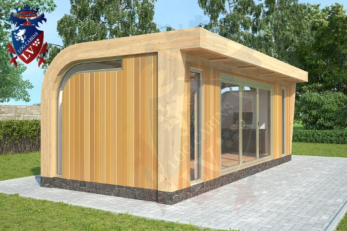 Insulated garden offices log cabins lv blog for Insulated office