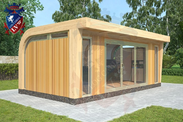 insulated garden offices log cabins lv blog
