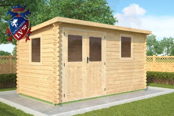 interlocking shed