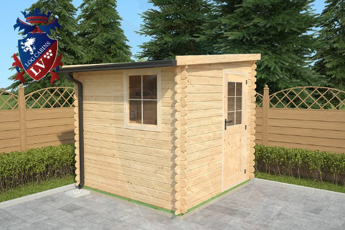 Interlocking sheds log cabins lv 3