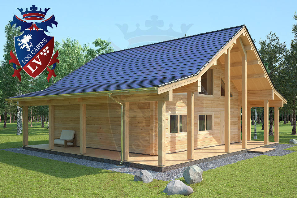 Laminated Log Cabins   01
