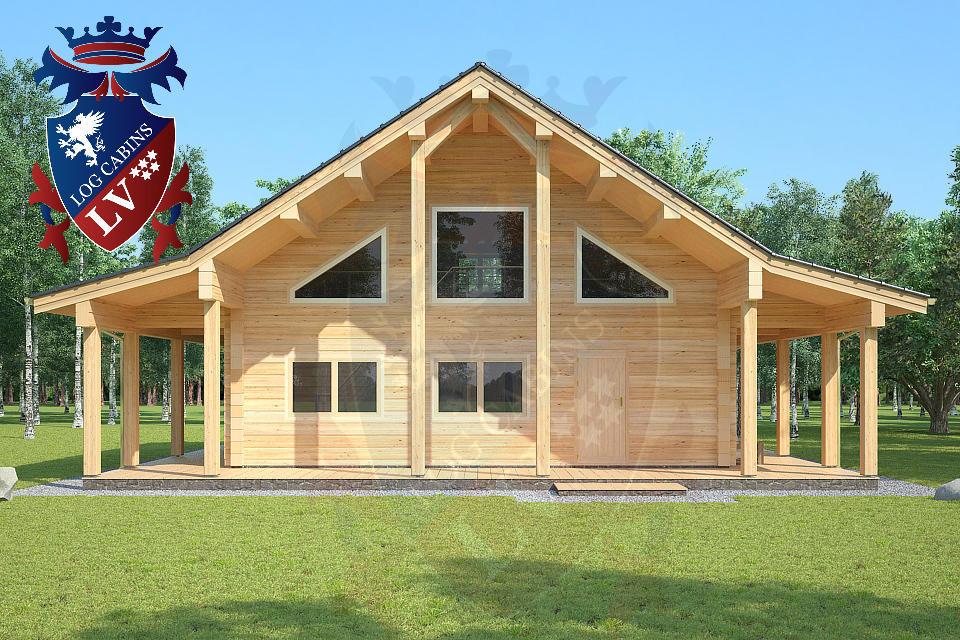 Laminated Log Cabins   03