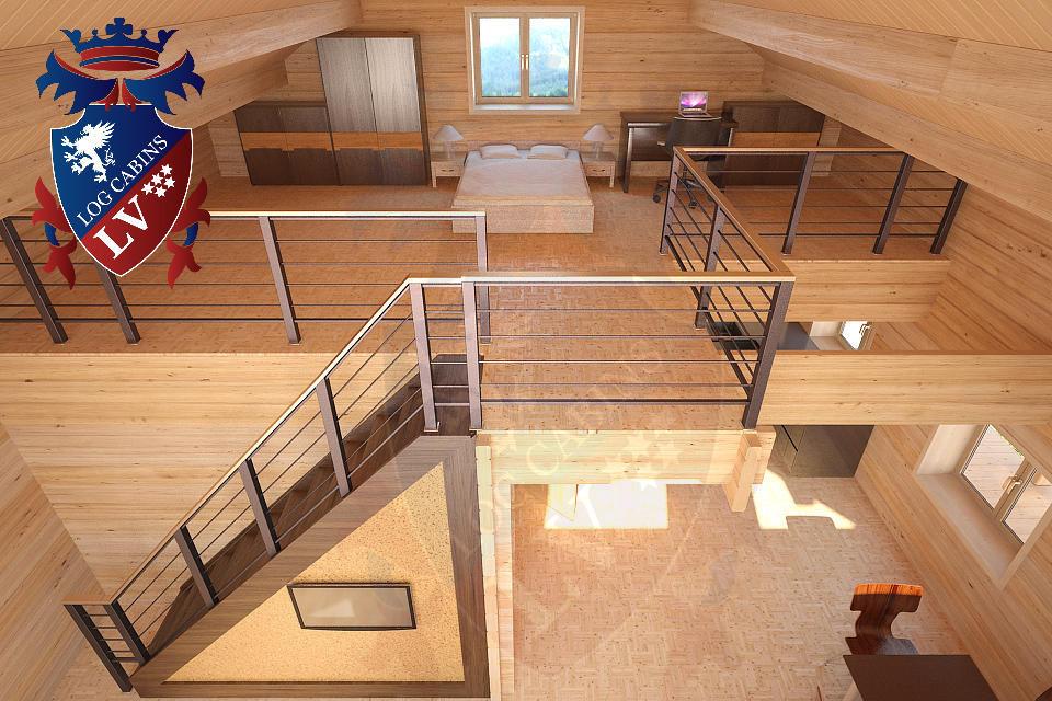 Laminated Log Cabins   10