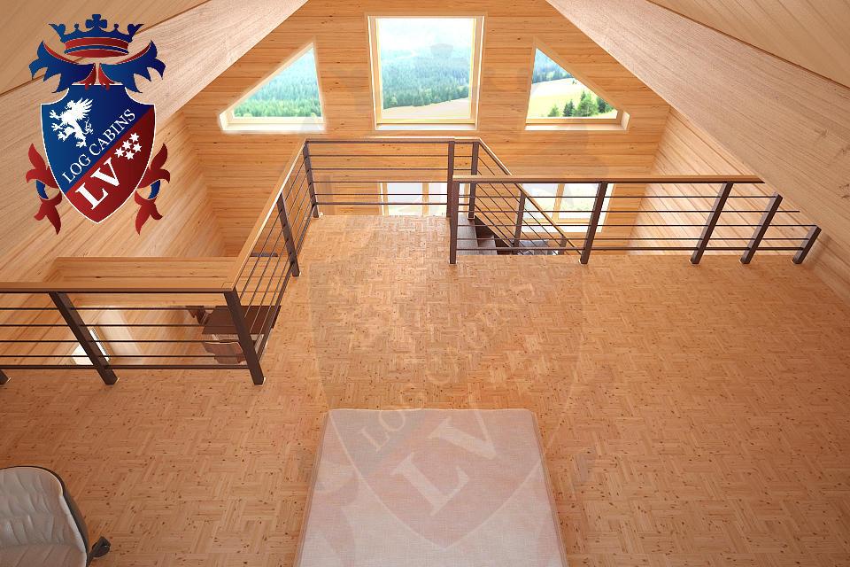 Laminated Log Cabins   11
