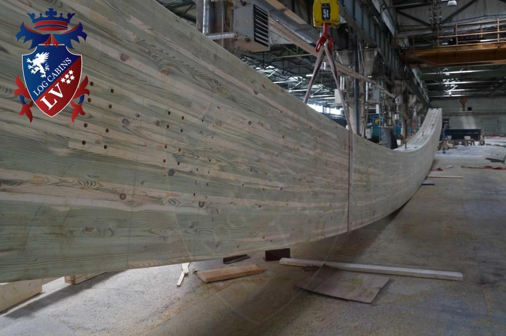 Laminated Log Cabins By logcabins.lv  1436