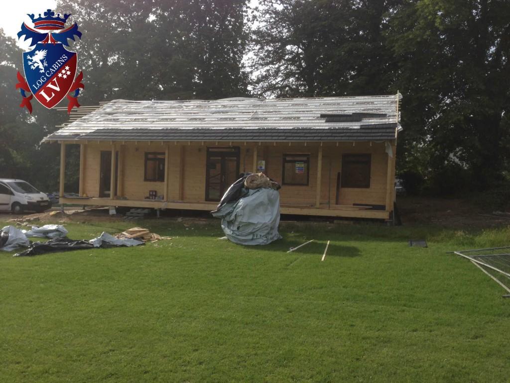 Laminated Log Cabins LV 038