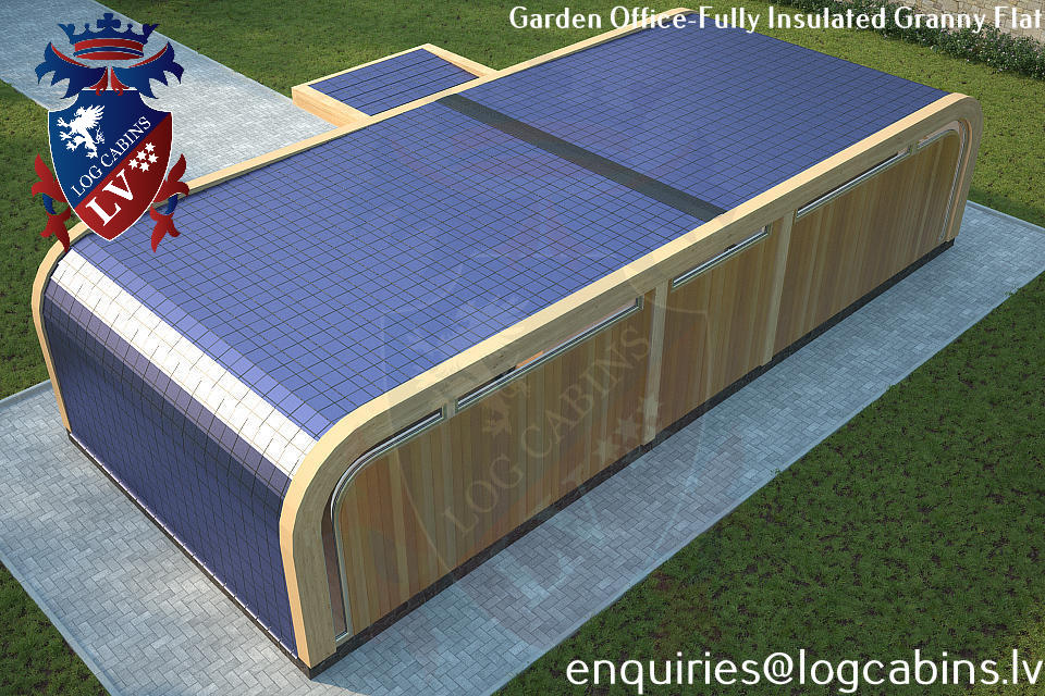 Laminated Timber Frame Garden Offices- Garden Studios  05