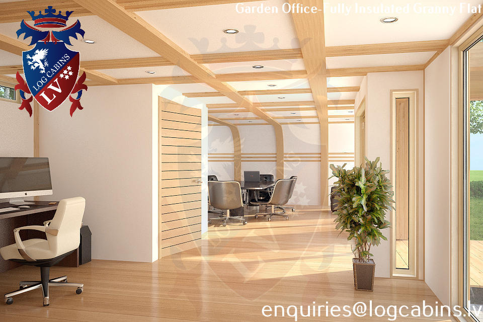 New for 2014 Engineered Laminated Timber Frame Office ...
