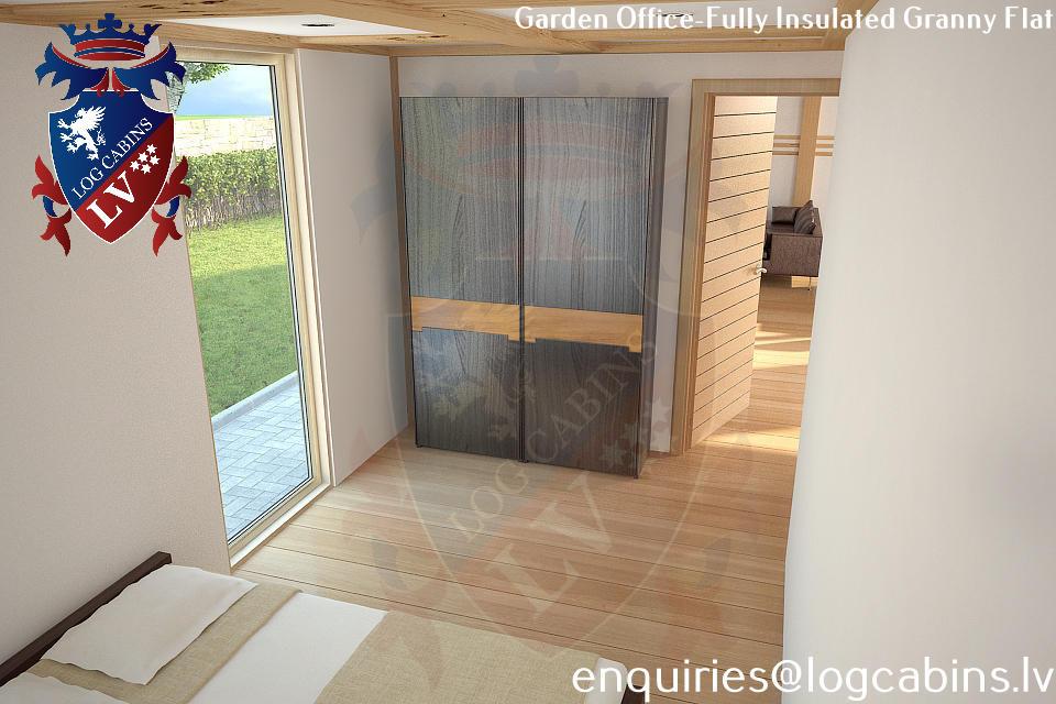 Laminated Timber Frame Garden Offices- Garden Studios  10