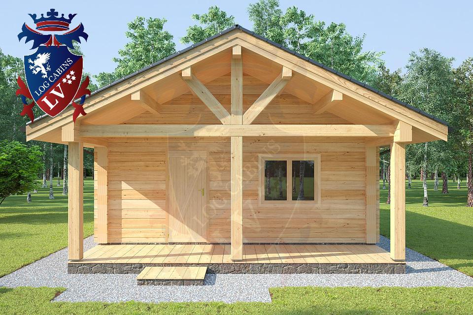Laminated Twin Skin Log Cabins by logcabins.lv  3