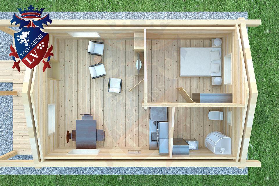 Laminated Twin Skin Log Cabins by logcabins.lv  4