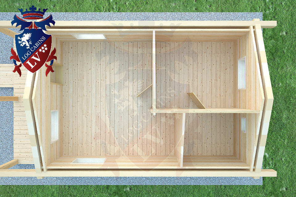 Laminated Twin Skin Log Cabins by logcabins.lv  5