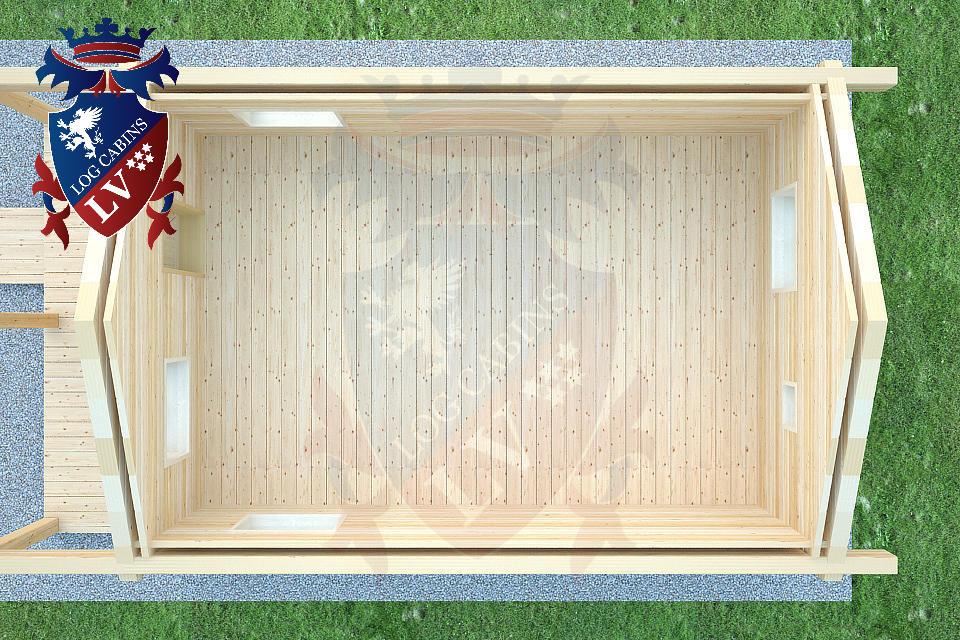Laminated Twin Skin Log Cabins by logcabins.lv  6