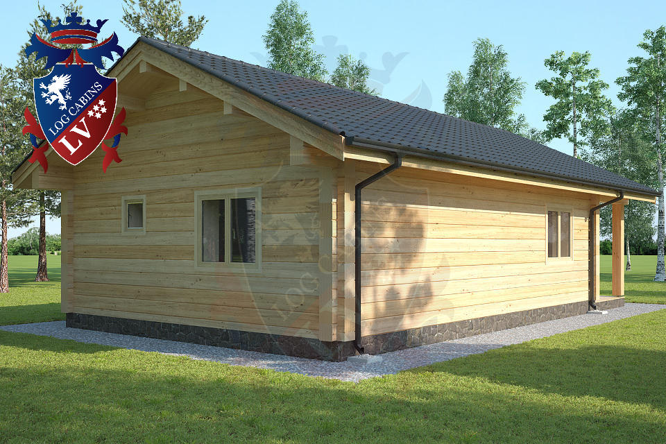Laminated Twin Skin Log Cabins by logcabins.lv  7