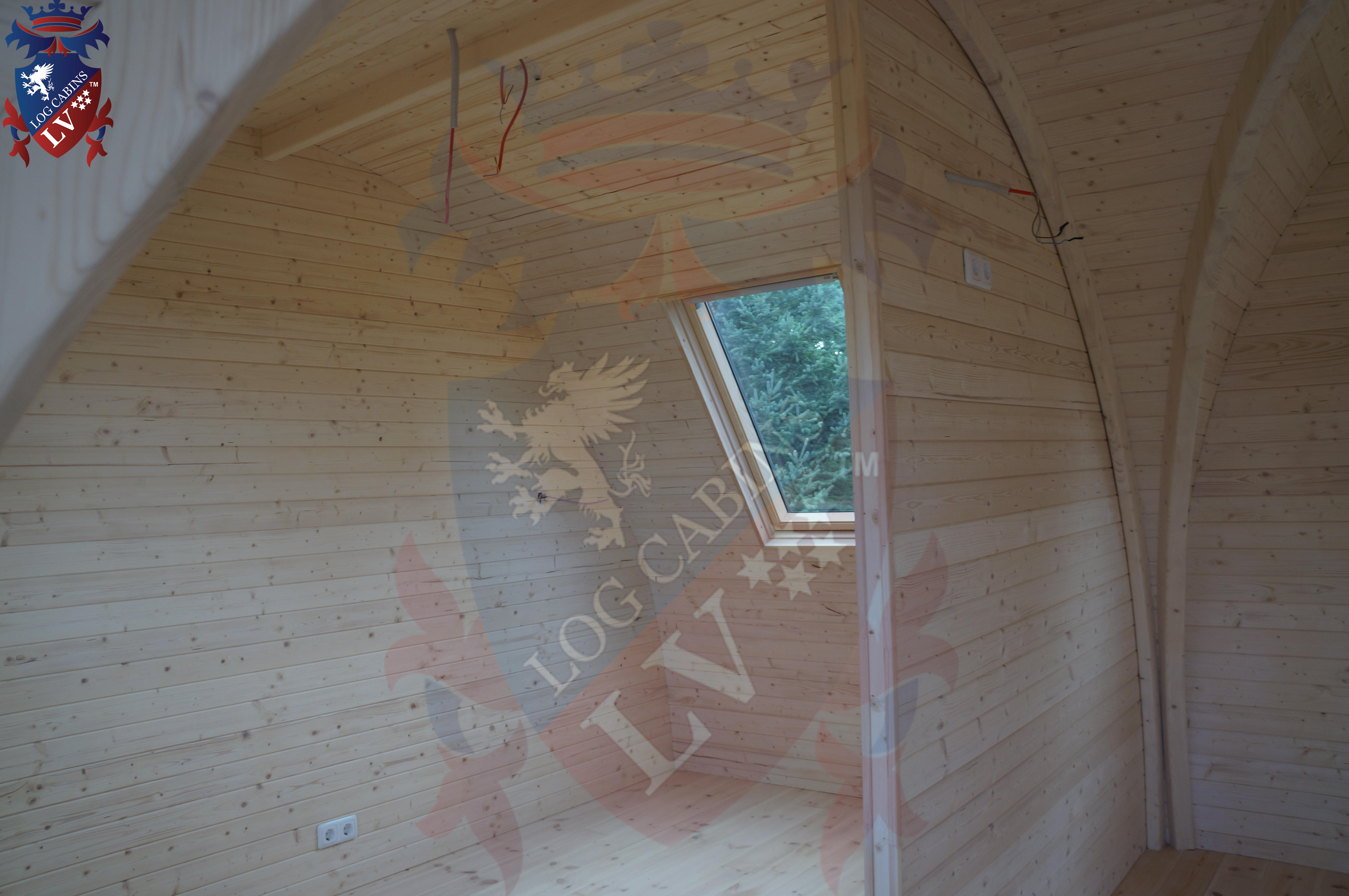 Lodge Camping Pods - Toilet- Kitchen- Bedroom and Lounge.  17