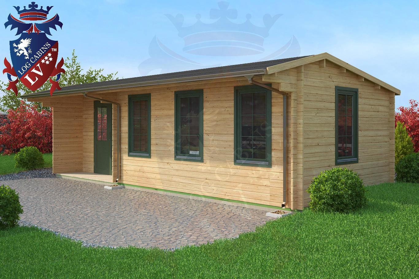 Log Cabins 8.0m x 3.5m 2