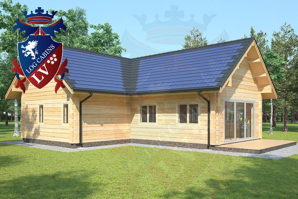 eco log cabins