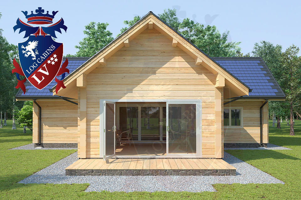 New designs and eco cabins log cabins lv blog for Eco cabin designs