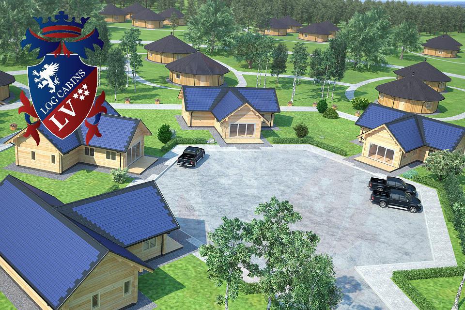 Log Cabins- Eco Cabins- Eco Log Buildings 10