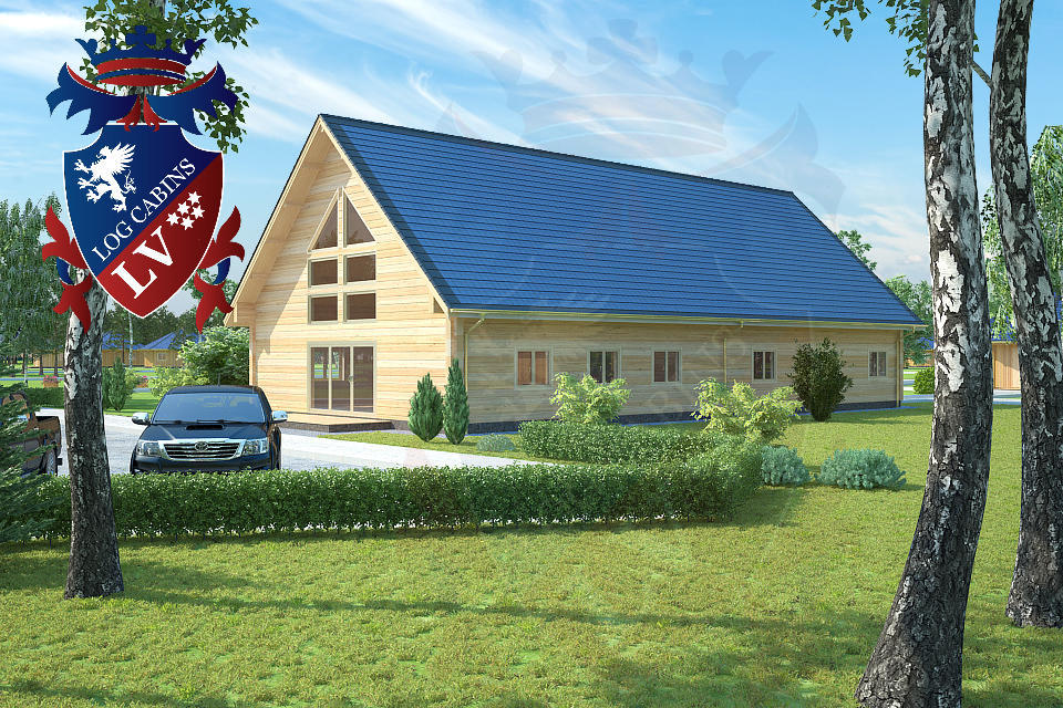 Log Cabins- Eco Cabins- Eco Log Buildings 11