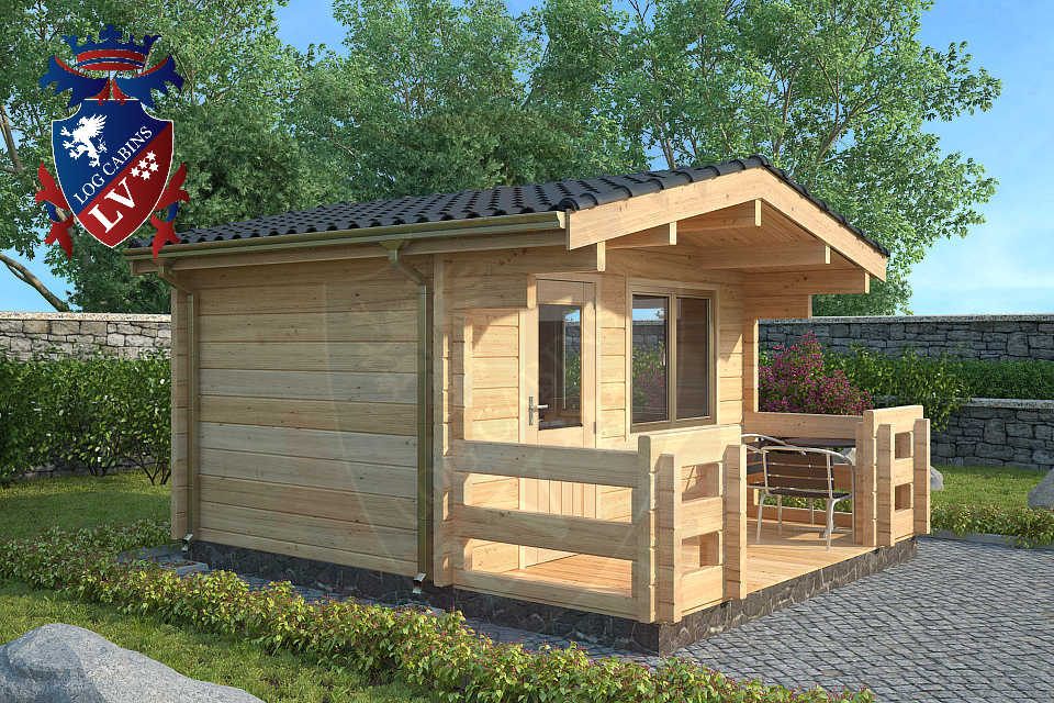 Affordable modern cabins joy studio design gallery for Cheap log cabin plans