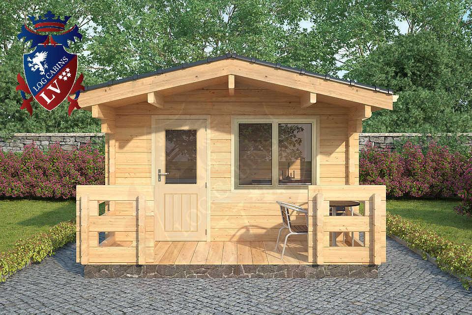 Log Cabins Glulam 80mm 13