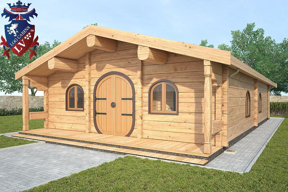 Garten Haus - Log Cabins LV