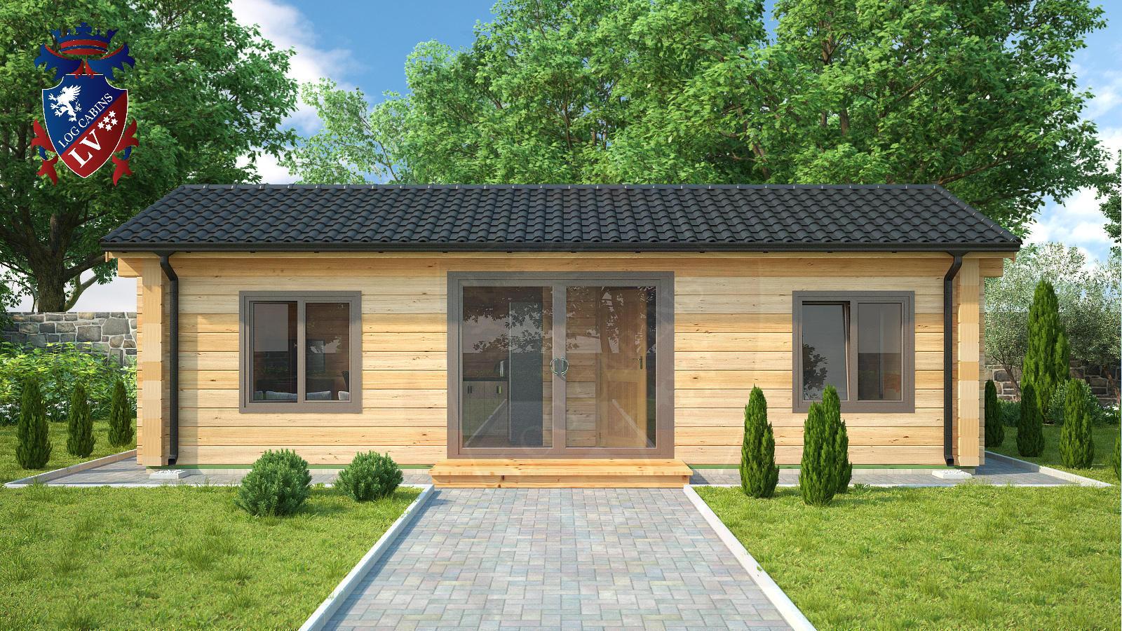 Log Cabins LV 4