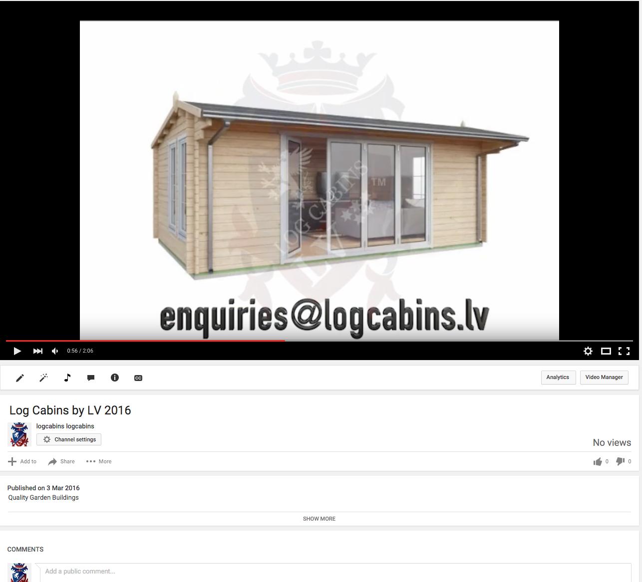log cabins lv