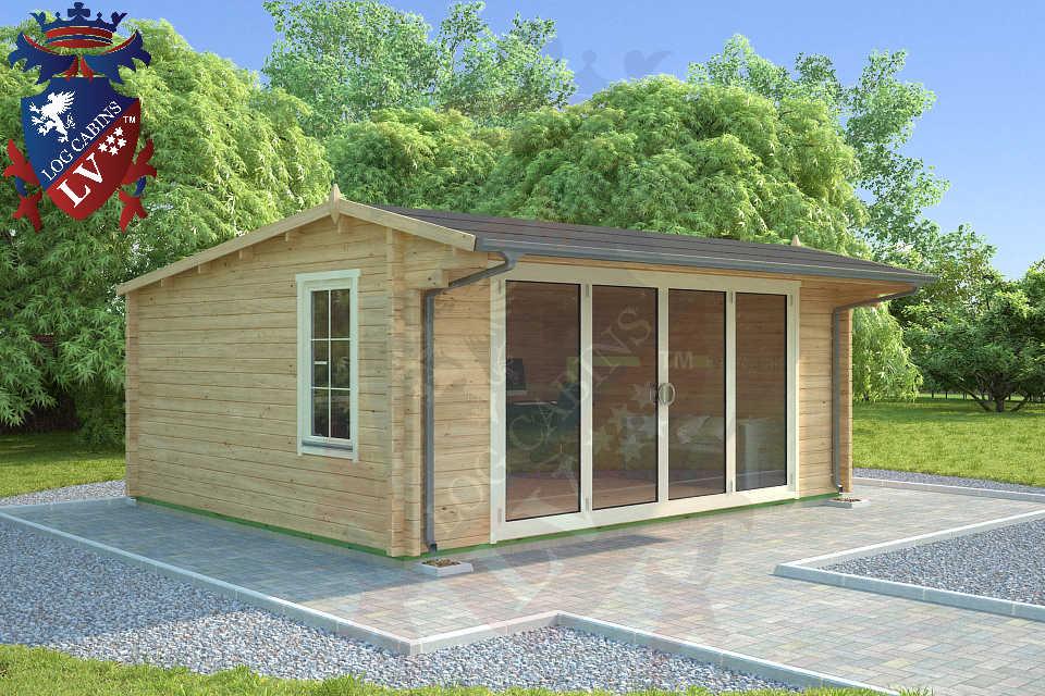 Log Cabins LV Bi Folding Doors  1