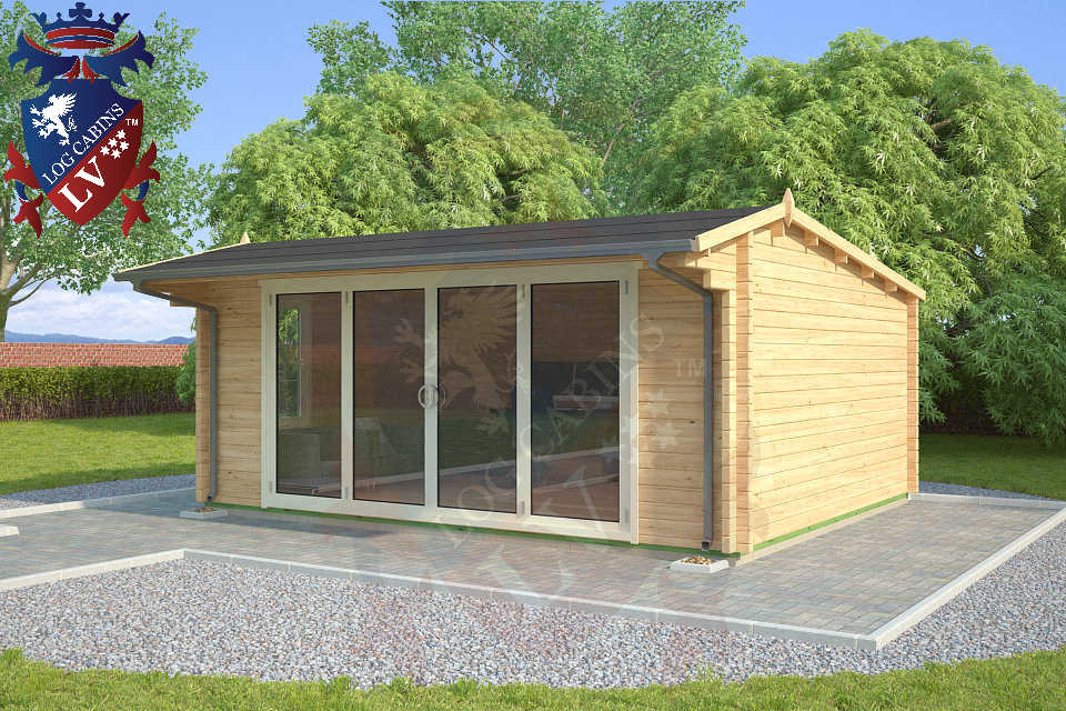 Log Cabins LV Bi Folding Doors  2