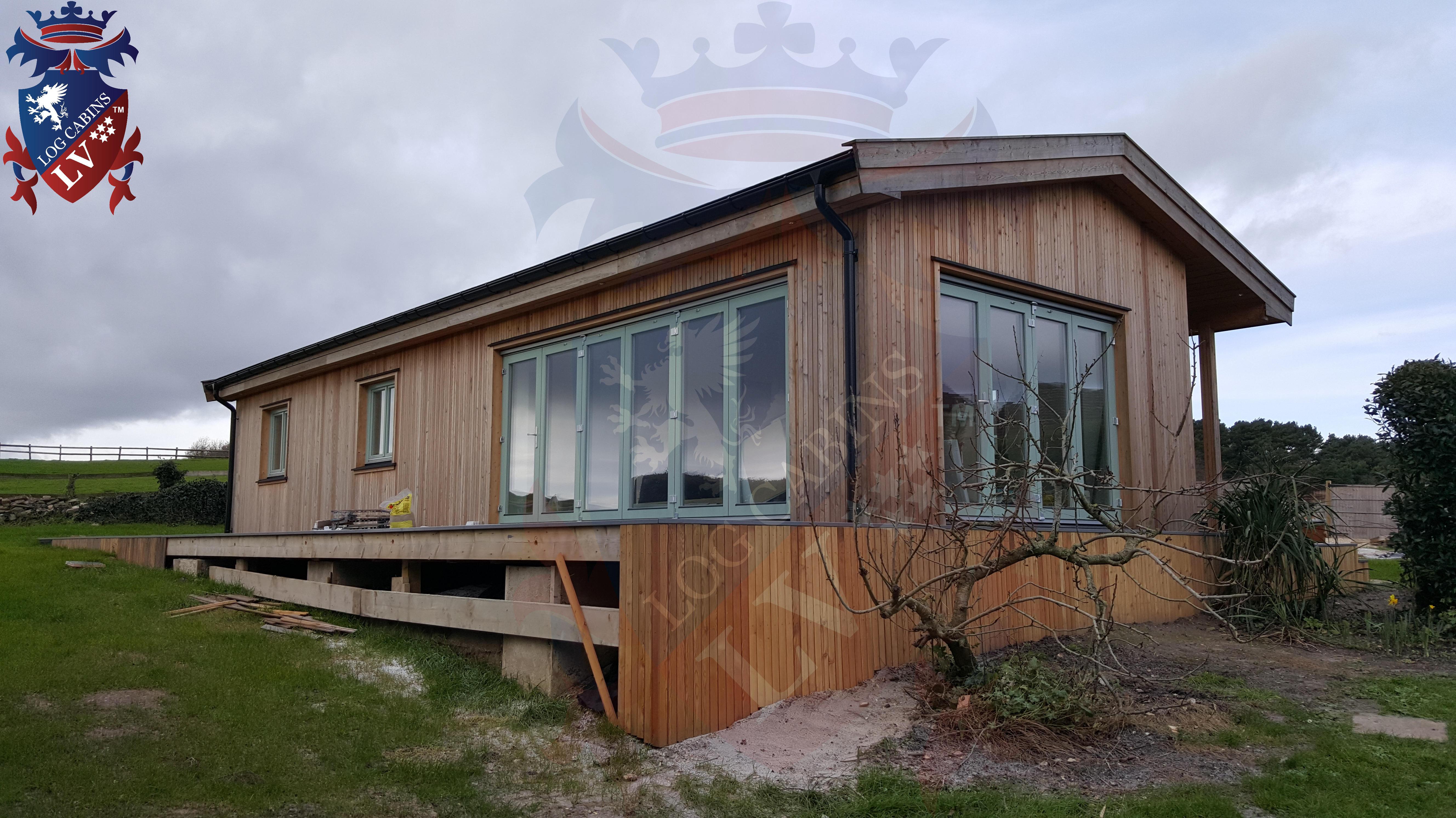 Log Cabins LV Passive Park Homes  36