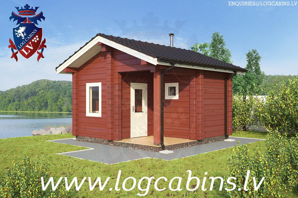 Log Cabins Sauna New for 2015