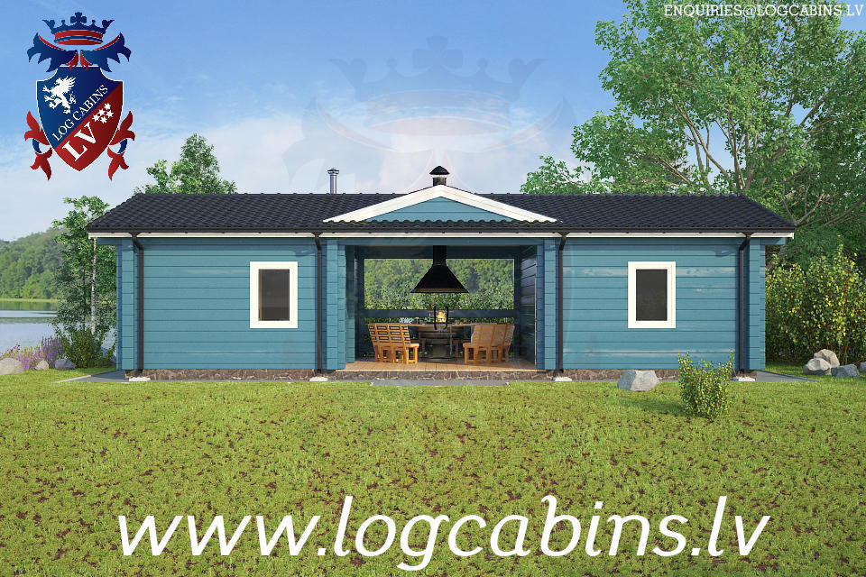 Log Cabins New for 2015    03