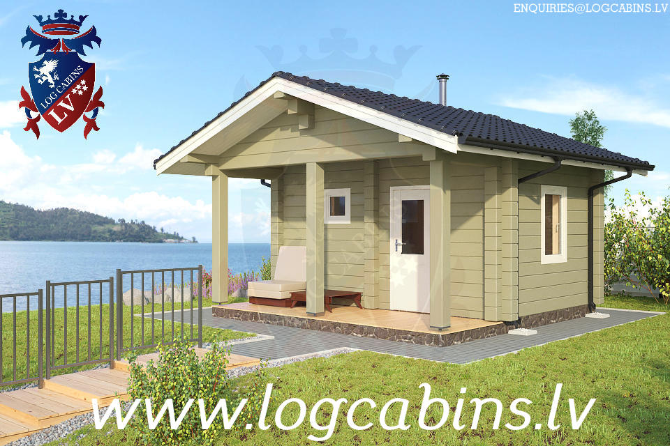 Log Cabins New for 2015    05