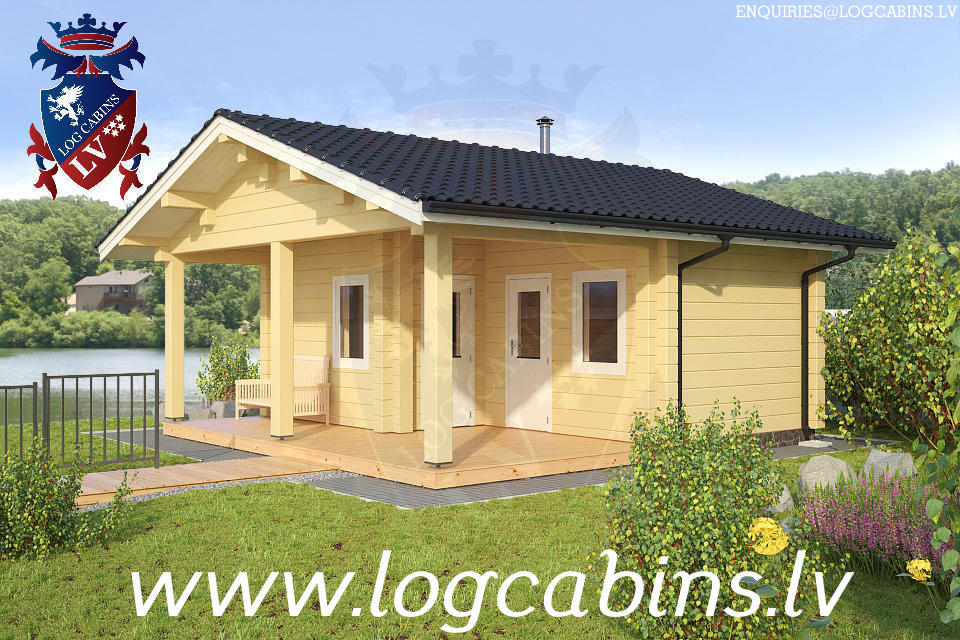 Log Cabins New for 2015    09