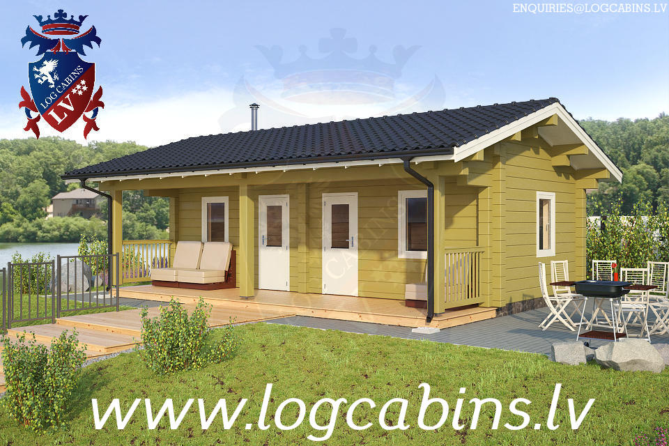 Log Cabins New for 2015    13